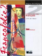 francofolie 2. livre de l eleve + cd + portfolio-r. boutegege-9788431681838