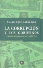 corrupcion y los gobiernos susan rose ackerman 9788432310638