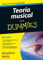 teoria musical para dummies-michael pilhofer-9788432920738