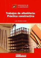 trabajos de albañileria-luis jimenez lopez-9788432930638