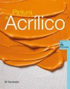 pintura al acrilico 9788434229938