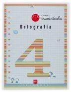 cuaderno de ortografia 4: cuadricula (2º educacion primaria) maria del mar cervera 9788434888838