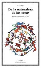 de la naturaleza de las cosas (2ª ed.)-9788437604138