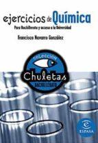 ejercicios de quimica para bachillerato (chuletas) 9788467027938