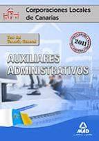auxiliares administrativos de corporaciones locales de canarias 9788467654738