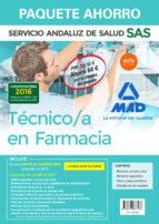 paquete ahorro técnico en farmacia del servicio andaluz de salud. (incluye temario común y test; temario específico; test y casos-9788467687538