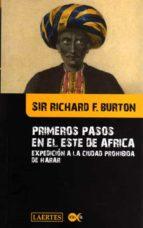 primeros pasos en el este de africa sir richard f. burton 9788475846538