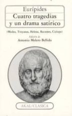 cuatro tragedias y un drama satirico-9788476005538
