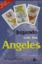 jugando con los angeles (incluye dos barajas)-hania czajkowski-9788478084838