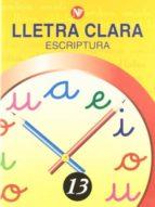 lletra clara nº 13   c. i. / c. m.-9788478873838