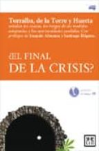 ¿el final de la crisis? leopoldo torralba 9788483561638