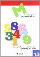 cuaderno de matematicas, nº 10 9788489655638