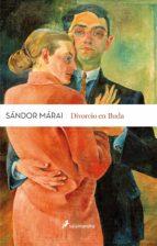 divorcio en buda-sandor marai-9788498388138