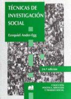 tecnicas de investigacion social-ezequiel ander-egg-9789507245138