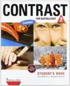 contrast for batxillerat 2 student book-9789963485338