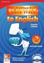 playway to english (2nd ed.): activity book with cd-rom (nivel 2)-herbert puchta-9780521131148