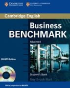 business benchmark advanced: student s book with cd rom bulats ed ition-guy brook hart-9780521672948