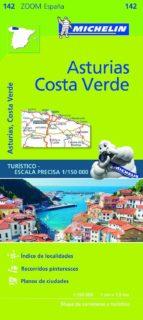 mapa zoom esp. asturias, costa verde 2017 9782067218048