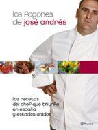 los fogones de jose andres: las recetas del chef español que triu nfa-jose andres-9788408063148