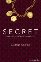 secret (s.e.c.r.e.t.) l. marie adeline 9788408123248