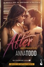 after 1 (ed. pelicula) anna todd 9788408206248