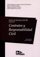 curso de derecho civil, ii volumen ii: contratos y responsabilidad civil carlos martinez de aguirre aldaz 9788415276548