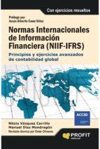 niif: normas internacionales de información financiera nitzia vazquez manuel diaz mondragon 9788415735748