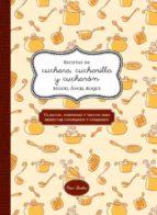 recetas de cuchara, cucharilla y cucharon-miguel angel roque bergaz-9788416245048