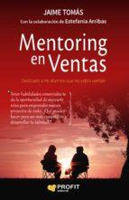 mentoring en ventas jaime tomas 9788416904648