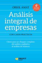 analisis integral de empresas (4ª ed.)-oriol amat salas-9788417209148