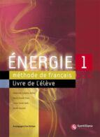 energie 1 (incluye cd rom) (eso) inmaculada saracibar zaldivar 9788429446548