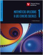 matematicas 1. aplicadas a las ciencias sociales 1º bachillerato l. pancorbo 9788431689148
