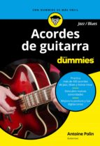 acordes de guitarra blues/jazz para dummies antoine polin 9788432904448