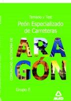 peon especializado de carreteras comunidad autonoma de aragon 9788466560948