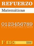 refuerzo 1º eso matematicas 9788467359848