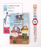 pack tiempo para leer azul (contiene pirata plin, pirata plan y la sopera y el cazo + reloj) paloma sanchez ibarzabal michael ende 9788467583748
