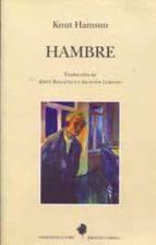 hambre (2ª ed) knut hamsun 9788479602048