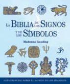 la biblia de los signos y de los simbolos-madonna gauding-9788484452348