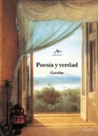 poesia y verdad: de mi vida-johann wolfgang von goethe-9788489846548