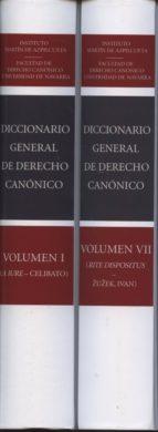 diccionario general de derecho canonico ( 7 volumenes) 9788490141748