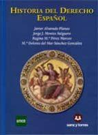 historia del derecho español 9788492948048