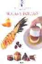 frutas y postres (tecnicas culinarias le cordon bleu) jeni wright eric treuille 9788495939548