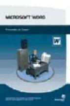 microsoft word: procesador de textos-9788496153448