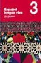 español lengua viva 3: libro + cd 9788497130448