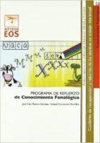 PROGRAMA DE REFUERZO DE CONOCIMIENTO FONOLOGICO