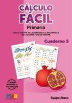 El libro de Cálculo fácil 5 autor VV.AA. EPUB!
