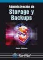 El libro de Administracion storage y backups autor DANTE CANTONE DOC!