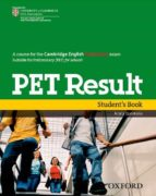 pet result student book 9780194817158