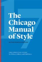 the chicago manual of style-9780226287058