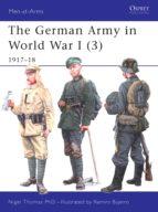 the german army in world war i (3) (ebook)-nigel thomas-9781780965758